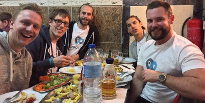 Papayapods - l'équipe a été distinguée lors du Web Summit 2016. Foto: Papayapods
