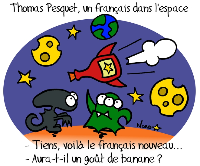 Thomas Pesquet, la french touch © Norb