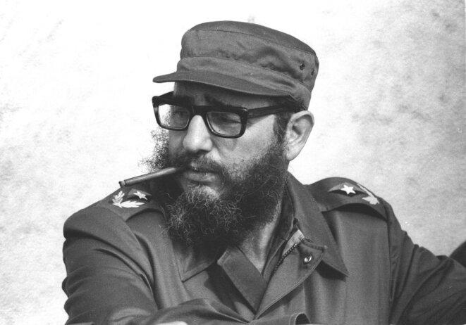 Fidel Castro, en 1976 © Reuters/ Prensa Latina (CUBA)