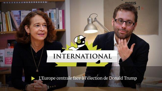 Catherine Horel et Cédric Pellen © Mediapart