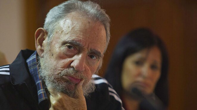 Fidel Castro en 2012. © Reuters
