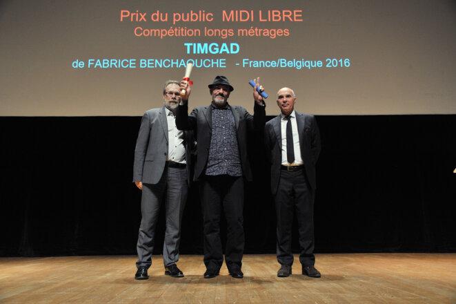 Fabrice Benchaouche (au centre) © DR