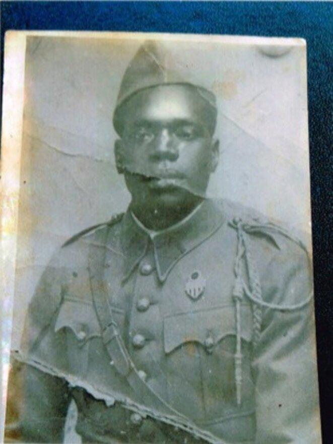 Kotou Diakité, comdamné en mars 1945. © DR