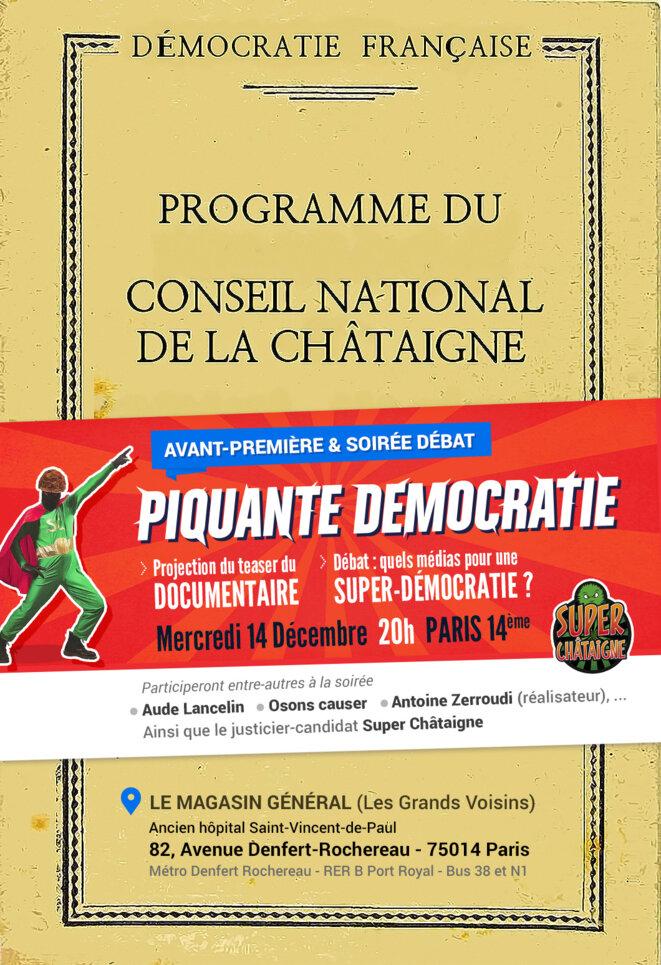 Programme du Conseil National de la Châtaigne