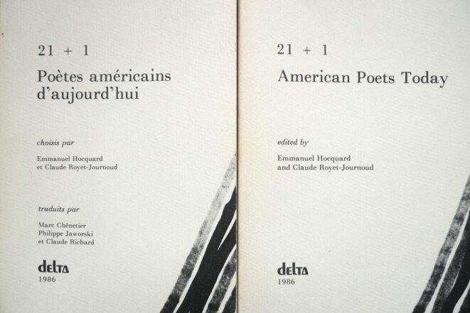 « Farolita », extrait de 21 + 1 Poètes américains d'aujourd'hui, une anthologie publiée par Emmanuel Hocquard et Claude Royet-Journoud, Delta, Université de Montpellier, 1986.