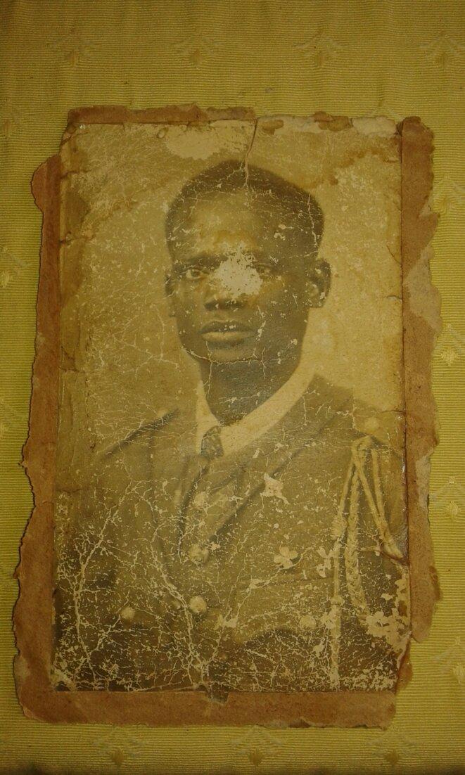 Mbap Senghor, tué à Thiaroye (Sénégal) le 1er décembre 1944. © DR