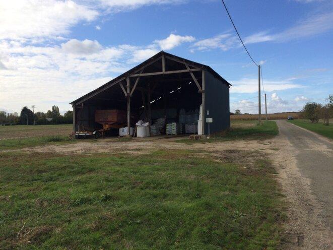 La ferme fantôme de Xavier Beulin à Trainou, dans le Loiret © Kl