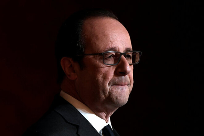 Not seeking re-election: François Hollande. © Reuters