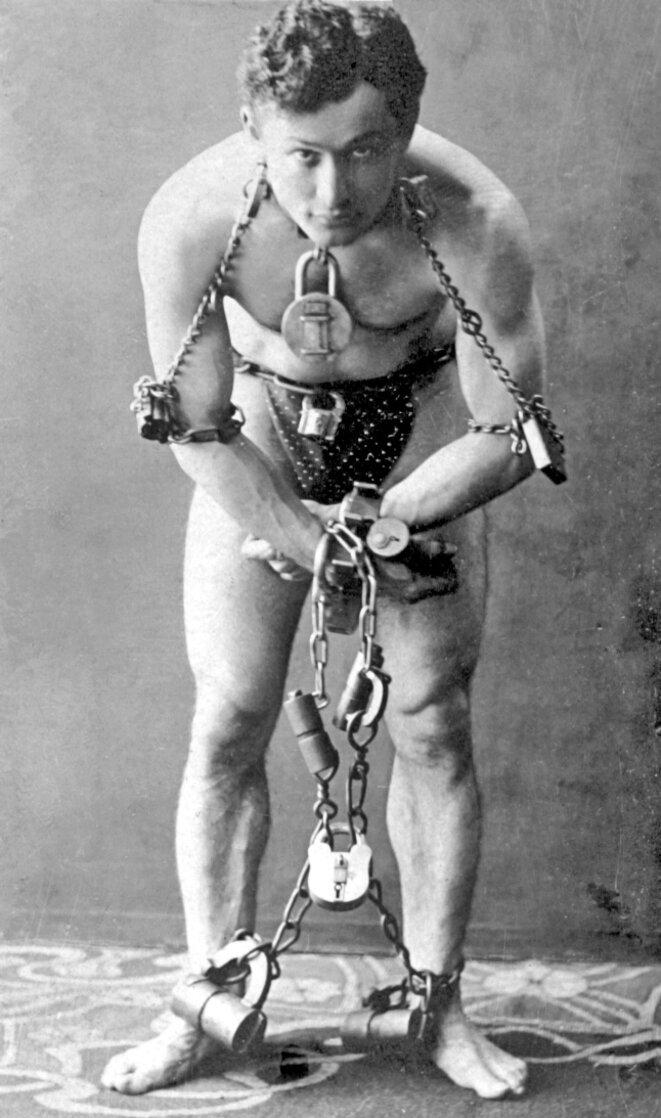 Harry Houdini en 1899