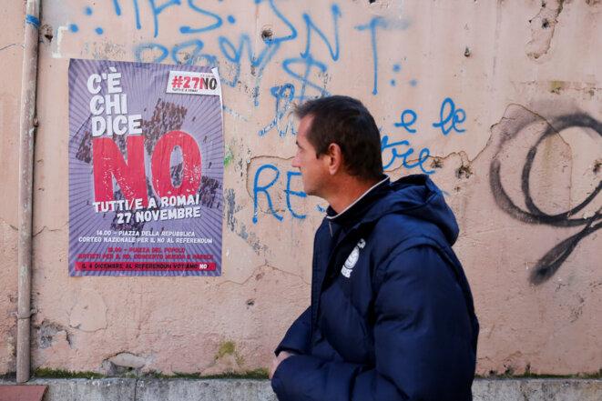 Appel à voter « non » au référendum sur la réforme du Sénat © Reuters