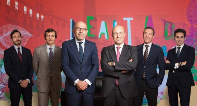 Les avocats associés du cabinet Senn Ferrero. © DR