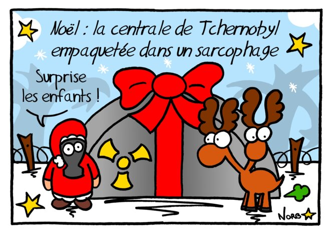Tchernobyl: Noël en avance © Norb