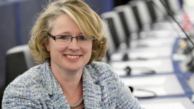 L'eurodéputée britannique Vicky Ford, rapporteure du texte au parlement