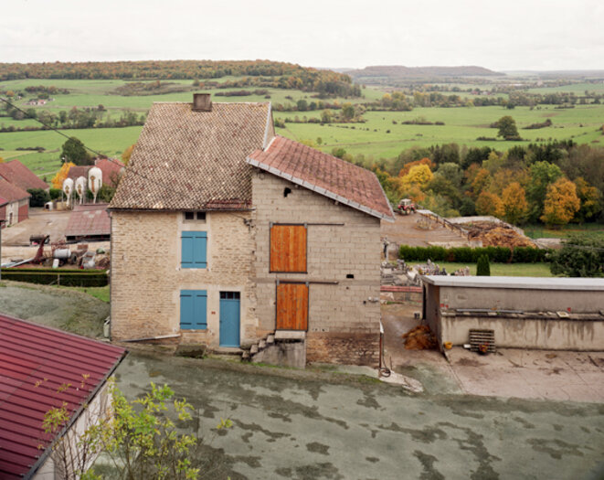 Signéville, Haute-Marne, octobre 2015. © Thierry Girard
