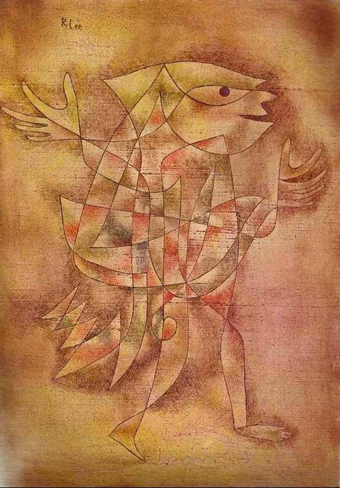 Paul Klee, Le Fou en transe. 1929