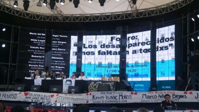 Les disparus mexicains nous manquent à tous © Coolectif Paris-Ayotzinapa