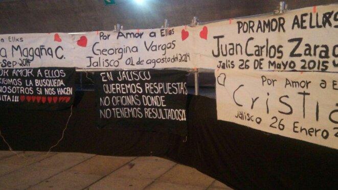 Les disparus mexicains nous manquent à tous © Collectif Paris-Ayotzinapa