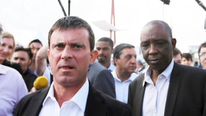 Ibrahima Diawadoh N'Jim, le «M. Afrique» de Manuel Valls. © Reuters
