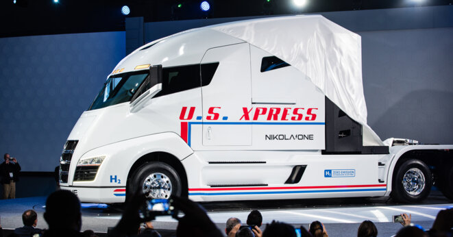NIKOLA'ONE, premier camion à hydrogène au monde et bientôt déjà en vente