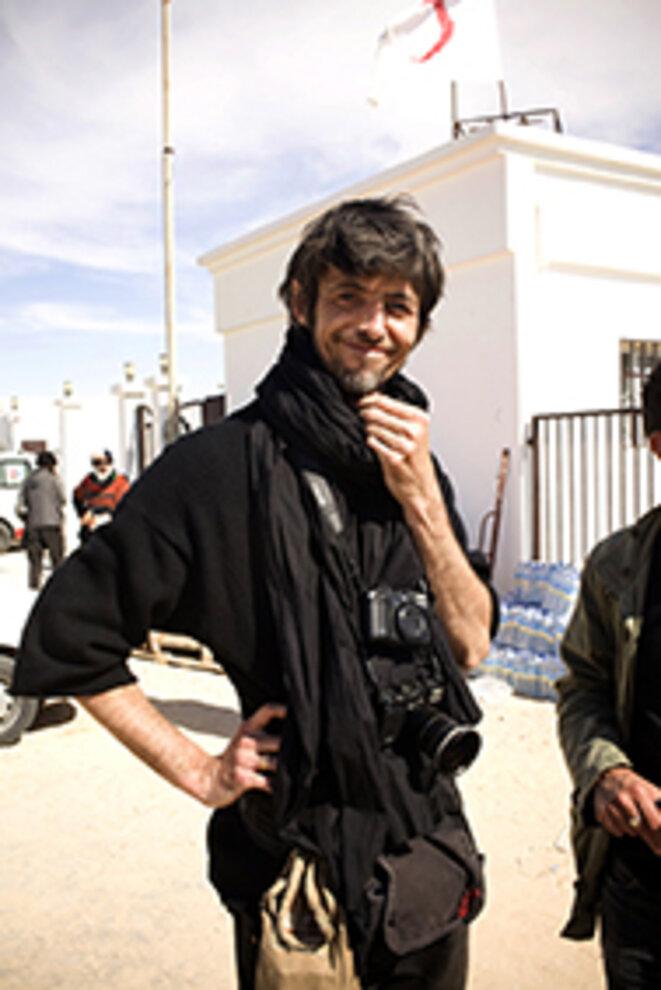 David Sauveur en Libye