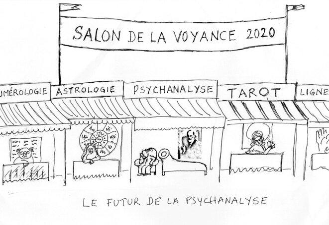 Le futur de la psychanalyse © Pascal Diethelm