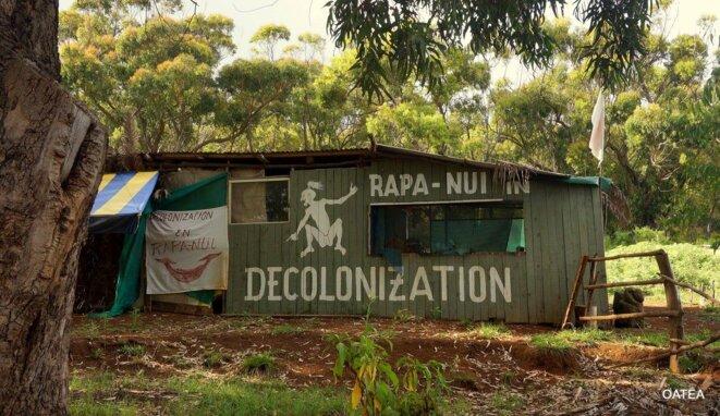RAPA NUI, (Île de Pâques). Autour de la Conférence 2016 des enjeux contemporains de la grande Polynésie © Pascal Hatuuku (OATEA).
