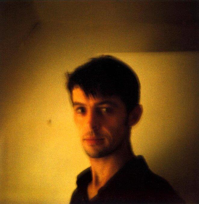 Autoportrait polaroid © David Sauveur
