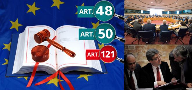 Traités Européens et malhonnêteté de Mélenchon