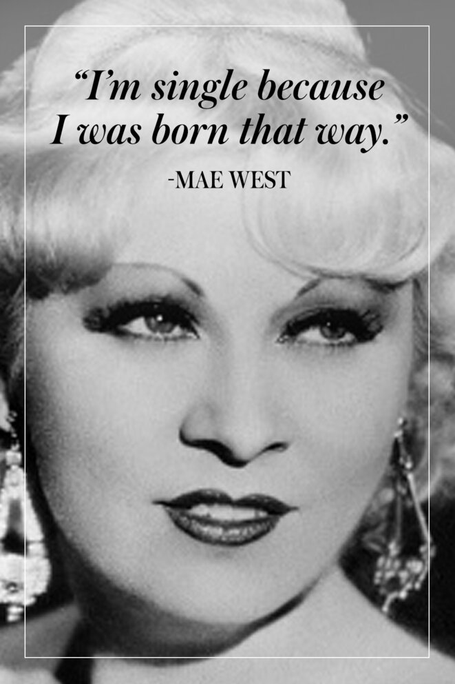 Mae West © Getty