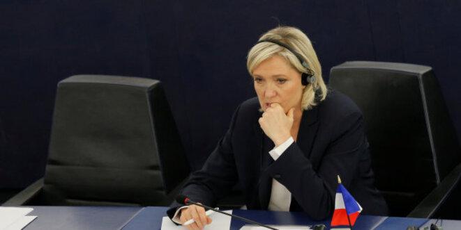 Au Parlement européen, en juillet 2016. © Reuters