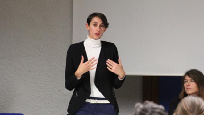 Roxane Revon a une vision claire et positive pour une Europe fédérale. © Eurojournalist(e)