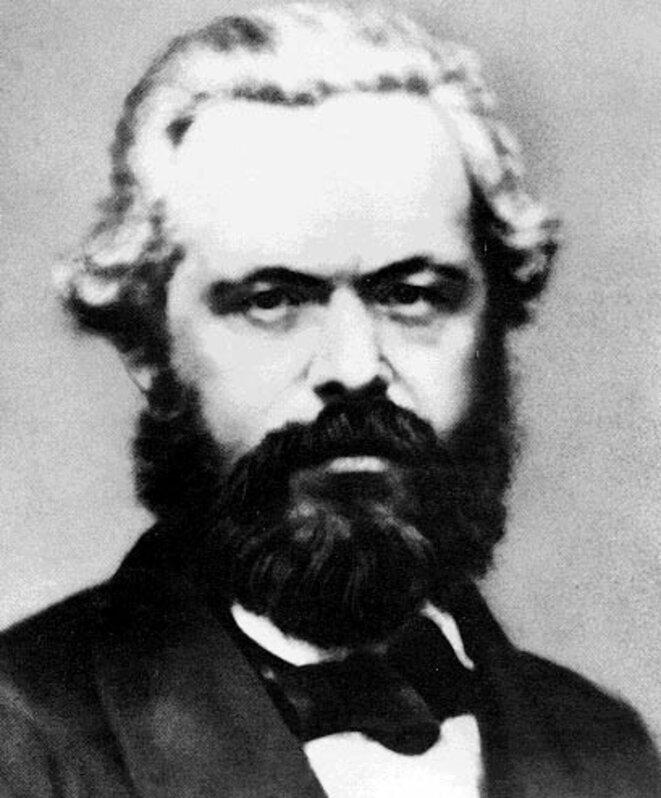 Karl Marx en 1861