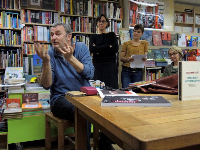 Velibor Čolić, 9 décembre 2016 Paris © Gilles Walusinski