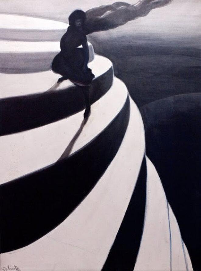 Vertigo, 1908, Leon Spilliaert