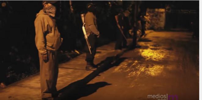 Groupe d'autodéfense dans l'état de Veracruz © Medios con M