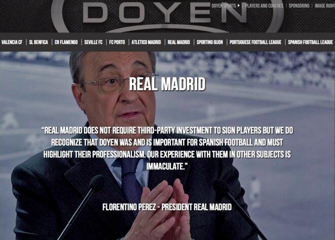 © Site web de Doyen Sports