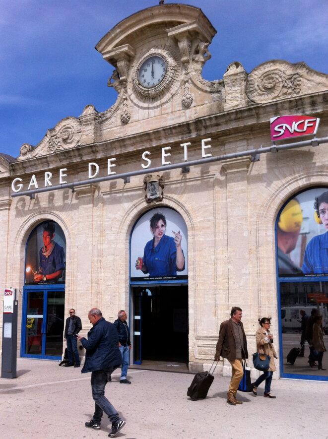 Bienvenue en 2016. L'arrivée du TGV de Paris © Vincent Planel