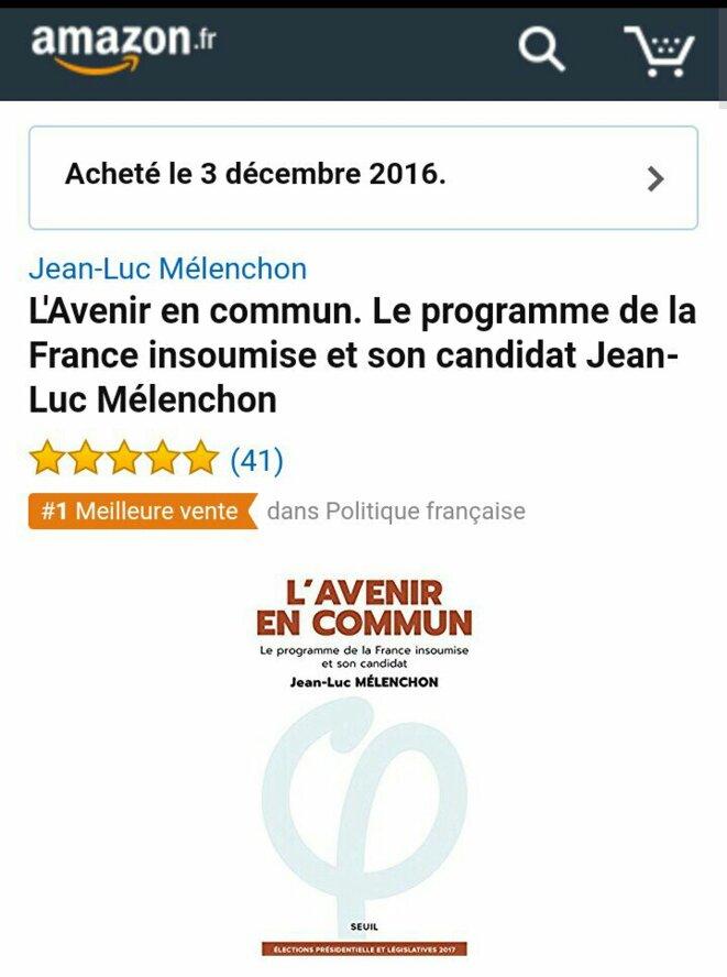 """Le même jour """"La France insoumise"""" est bien présentée comme premier dans la rubrique Politique française (qui existe donc bien...). NB : au 27 décembre les deux classements sont toujours inchangés."""