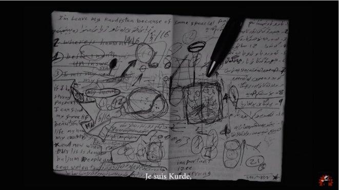 Extrait du diaporama sonore « Journal d'un exil » © Marion Potoczny