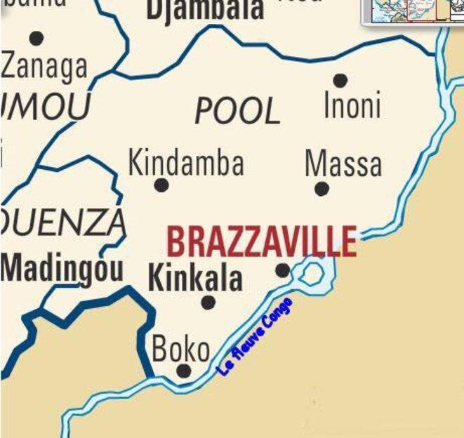 La région du Pool - Terrain de chasse de Sassou et son clan