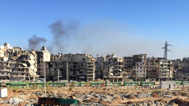 Evacuation d'Alep, décembre 2016