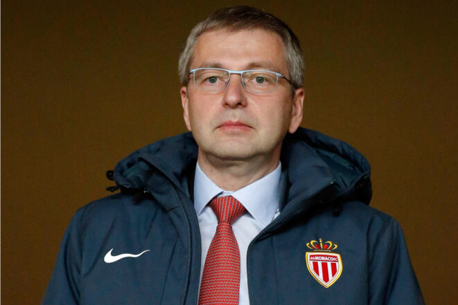 Dmitry Rybolovlev, owner and chairman of French football club AS Monaco. © Reuters