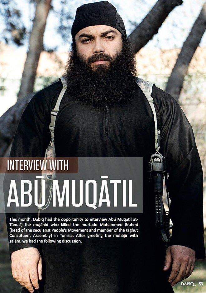 El fallecido terrorista francés Boubakar el-Hakim, alias Abu Muqatil, sospechoso de ser el autor intelectual de varios ataques en Alemania.