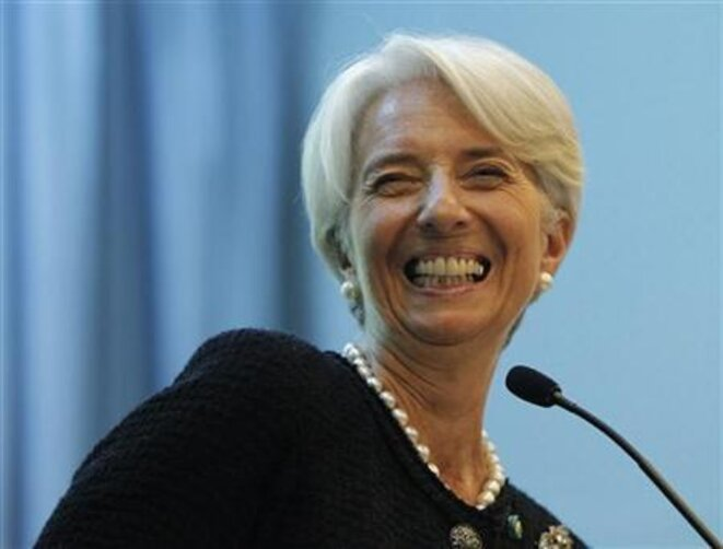 Christine Lagarde. © Reuters