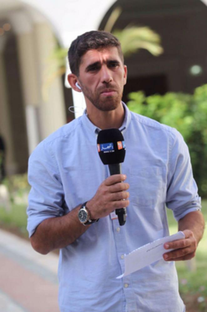Le journaliste Algérien Ahmed Kara (Ennahar) © Ennahar TV