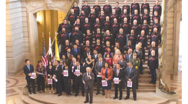 Le conseil des autorités de surveillance de San Francisco © San Francisco Bay Times