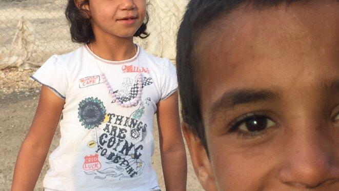 Enfants Syriens_Camp de réfugiés turc © Sepideh Farsi