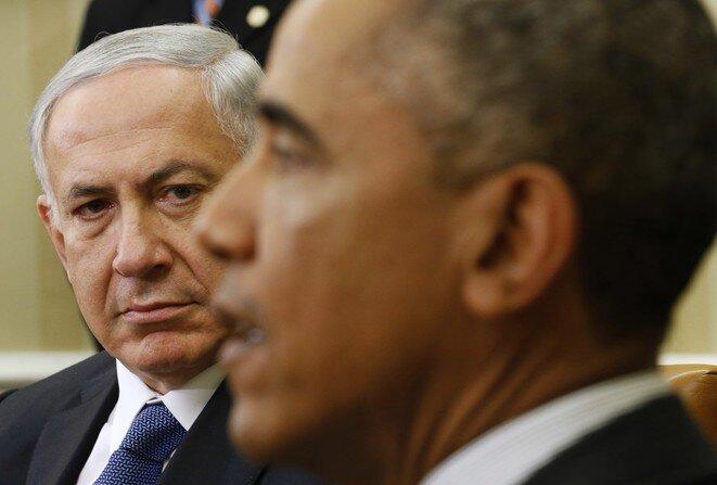 1 de octubre de 2014 en Washington. Encuentro entre Netanyahou y Obama. © Reuters