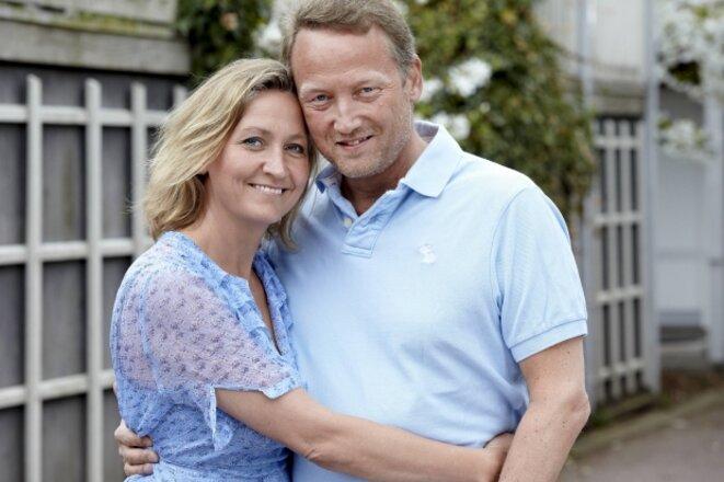 Lisbeth Zornig Andersen et son mari Mikael Rauno Lindholm © Krestine Haveman