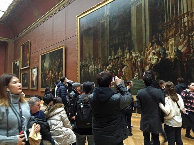 Le Louvre, 28 décembre 2016 © Gilles Walusinski